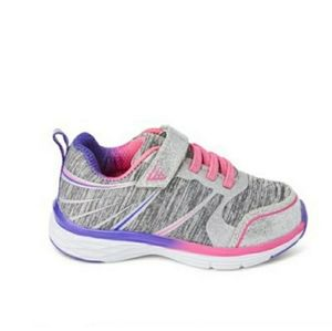 ATHLETIC WORKS Silver & Pink Runner 5